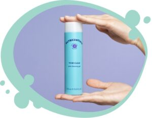 Nutricenatials To Be Clear Pure Cleansing Gel Anwendung